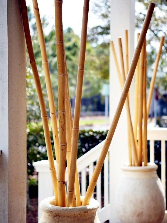 Ideas For Decorative Bamboo Poles How Bamboo Is Used In The Room