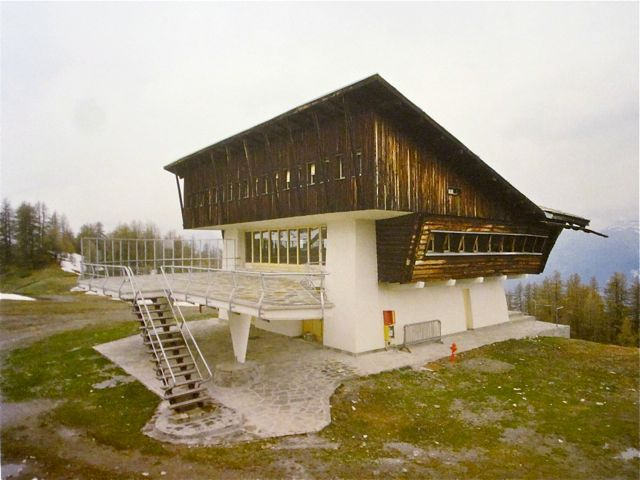 Carlo Mollino - Lago Nero Ski-Lift, Turin 1947 ...