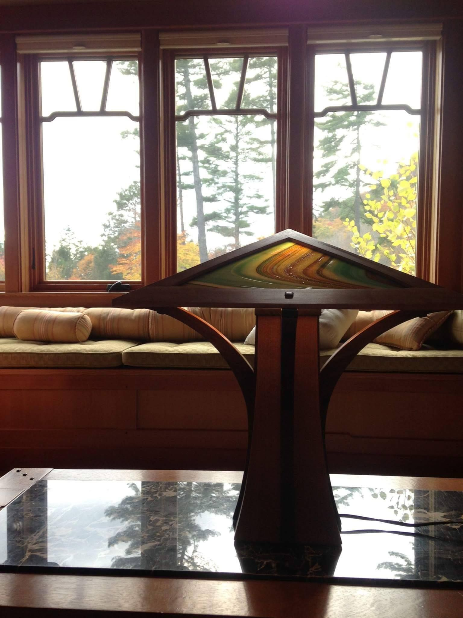 J a Hokkanen Lamps Are Designed and Handcrafted in Rockport Maine
