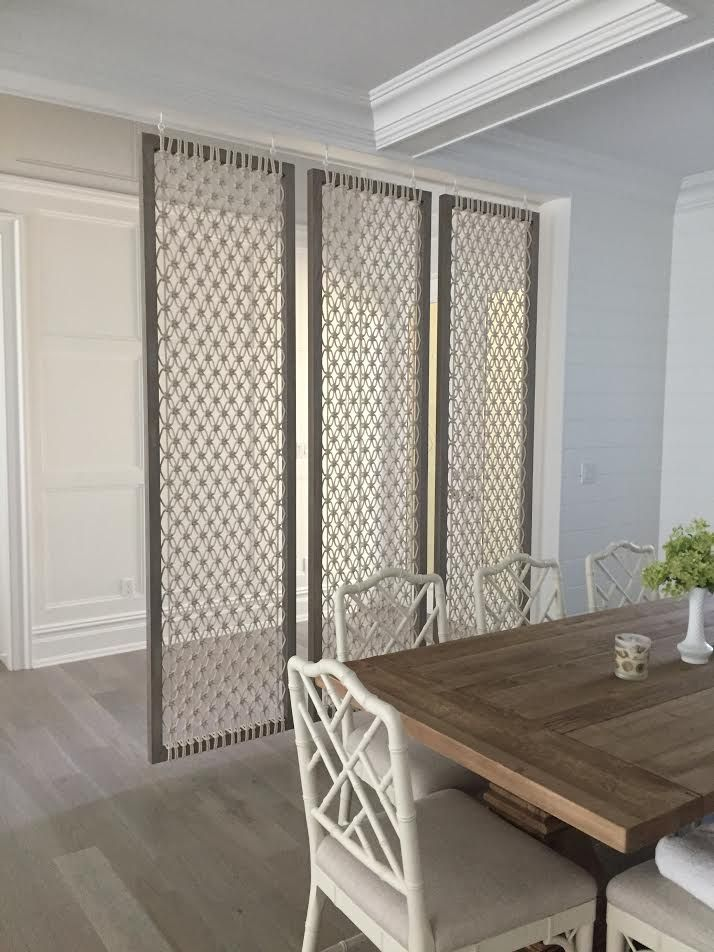 macrame screen, room divider, partition | billede tæpper