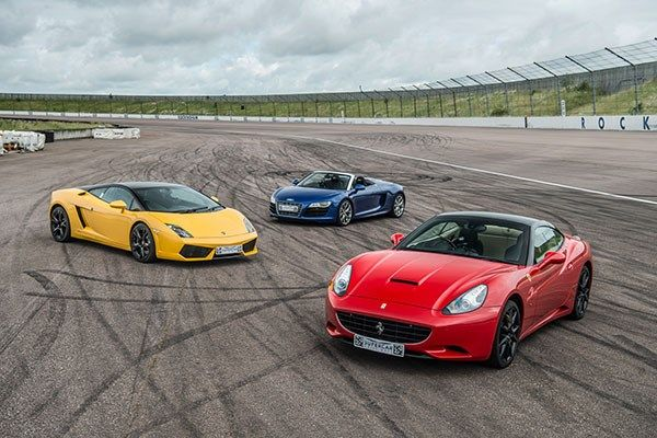 Triple Supercar Driving Blast With High Speed Passenger Ride Super Cars Supercar Driving Experience Driving Experience