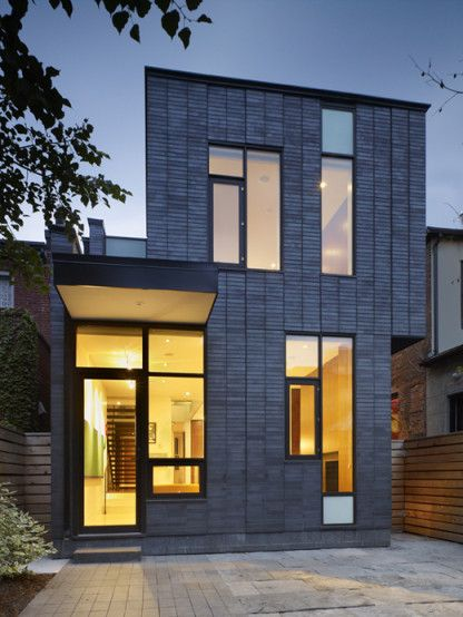 Annex House, Toronto, Canada | H O M E in 2019 | Brick house designs