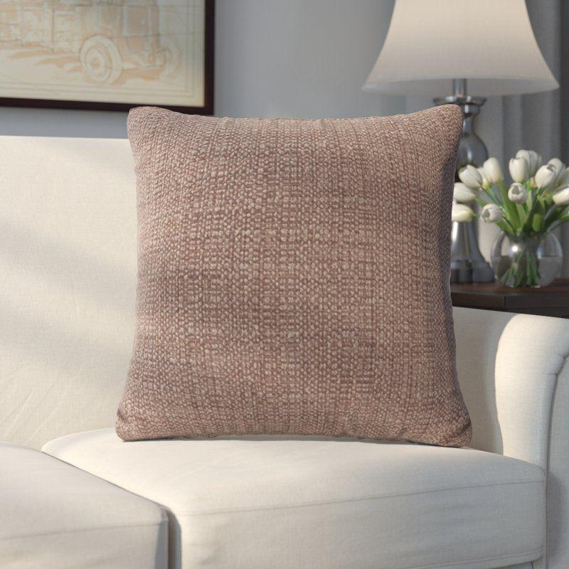 Abraham Texture Coco Soft Burlap Throw Pillow  b7c601ac7