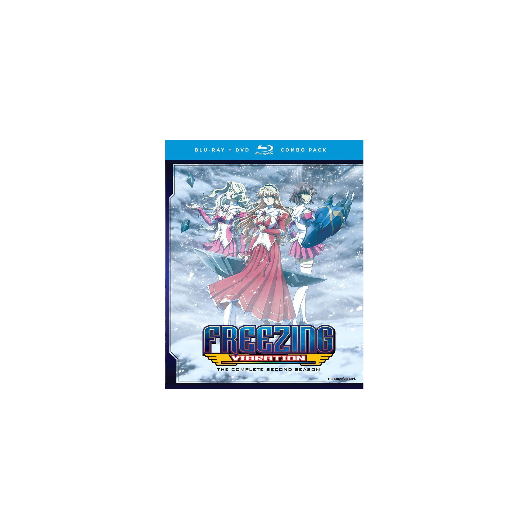 Freezing Vibration The Complete Series (Bd/Dvd Combo