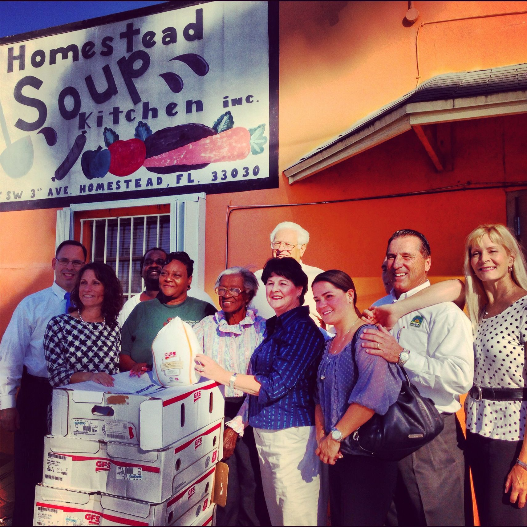 Wonderful Delivering Thanksgiving Turkeys To The Homestead Soup Kitchen Ideas