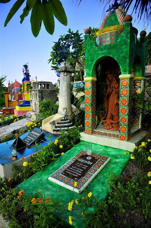 Cemetery, Xcaret, Mexico
