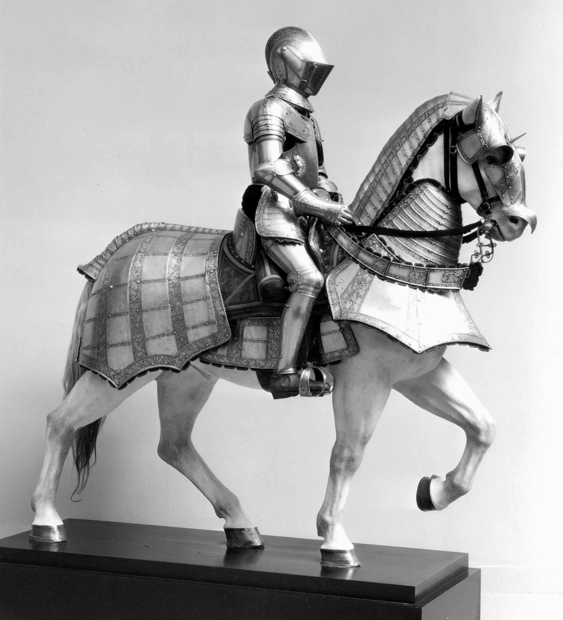 Armor for Man and Horse | Italian, probably Milan | The Metropolitan ...