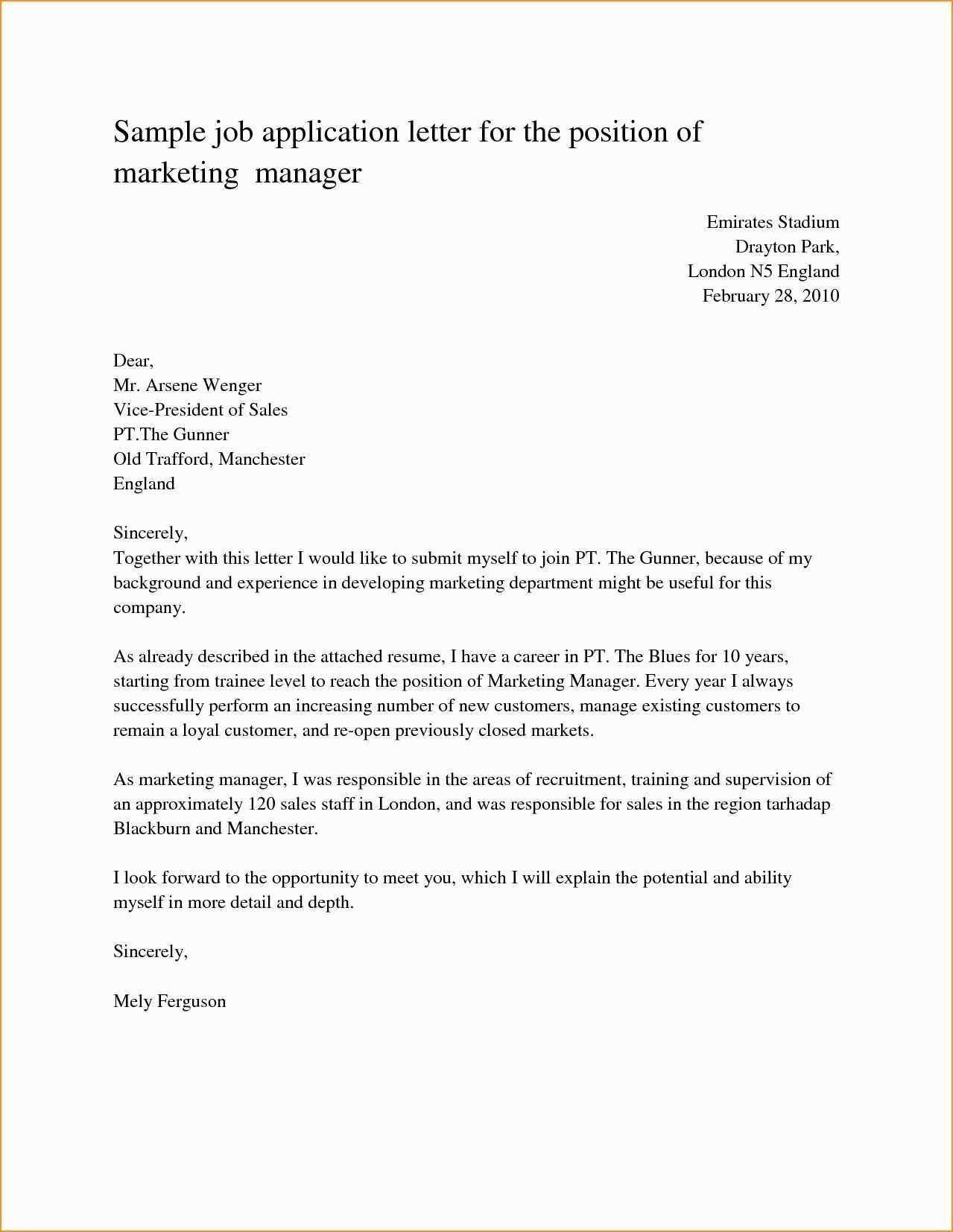 23+ Cover Letter Sample For Job Job application letter