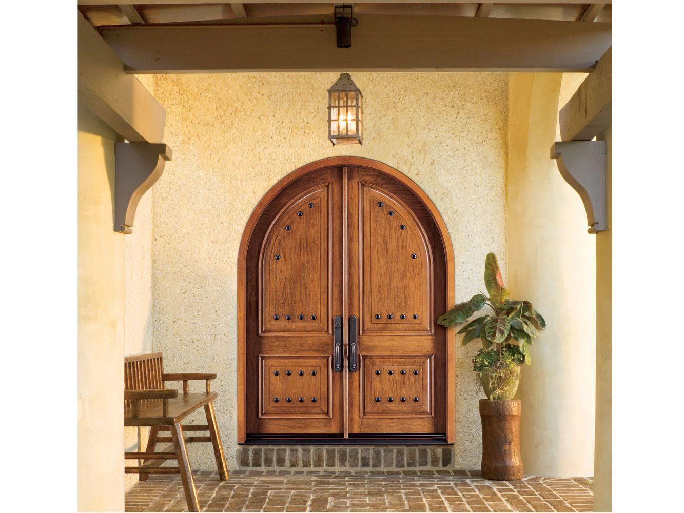 Tulsa Exterior Doors Mill Creek Lumber Exterior Doors Arched Doors Wooden Front Doors