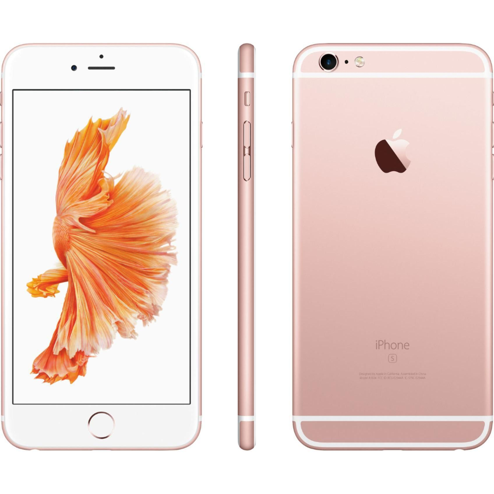 Rose Gold Iphone 6s 32 Gb This Phone Was Bought Brand New Only Ever Used With Metropcs Everything Else Should Be U Iphone Iphone 6s Rose Gold Rose Gold Iphone