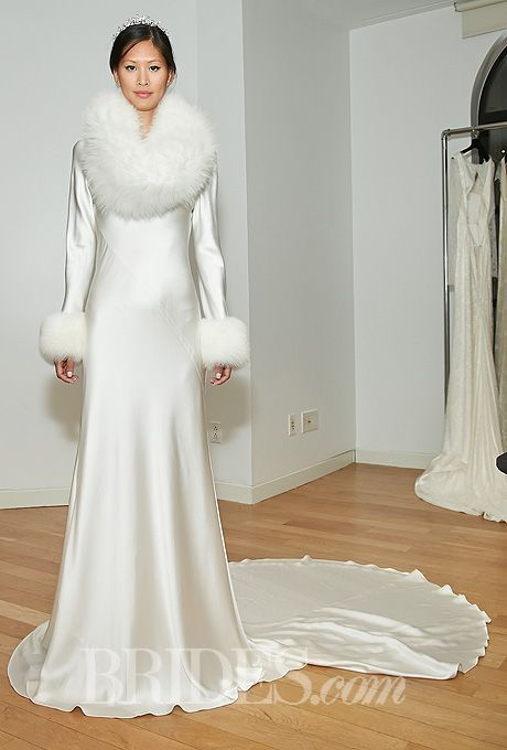 Wedding Gowns with Fur