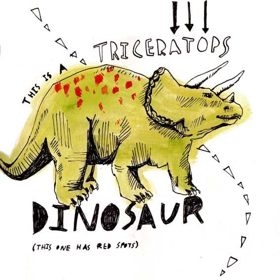 Emily Fox's Illustration blog. #dinosaurillustration