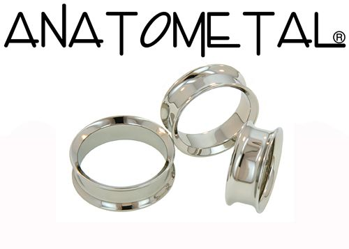 Check out Anatometal Stainless Surgical Steel Double Flare Eyelet