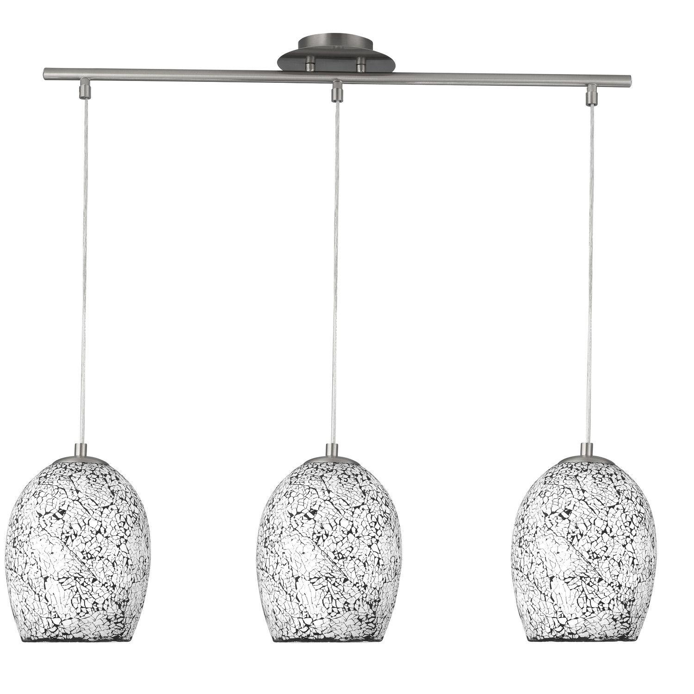 Crackle 3-Light Kitchen island Pendant | Island pendants, Pendants ...