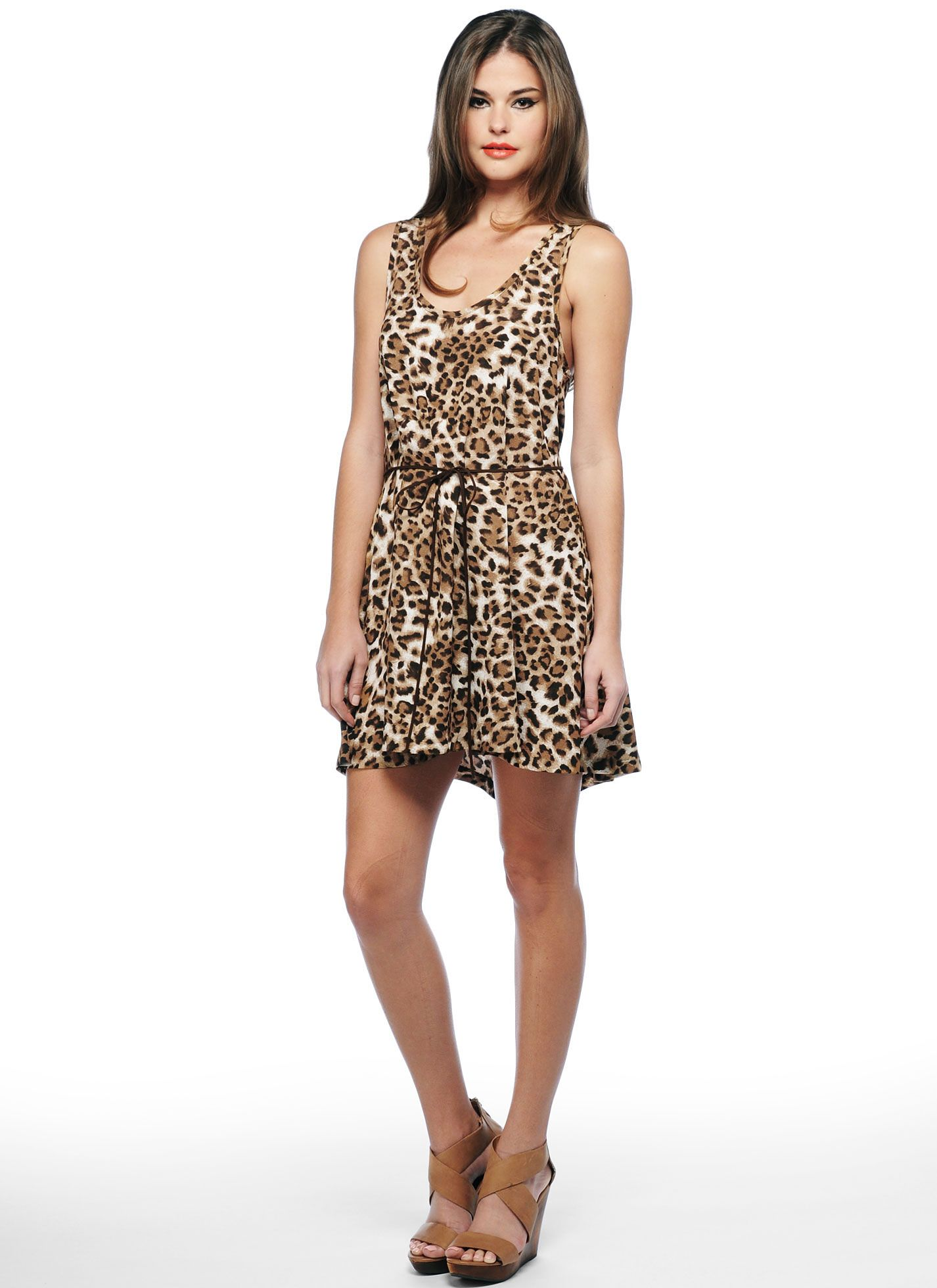 49d2629534b6a VS PINK uses lots of leopard and this dress reminded me of it ...