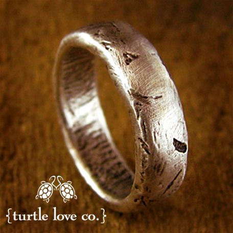 engagement rustic rings - Unusual Mens Wedding Rings