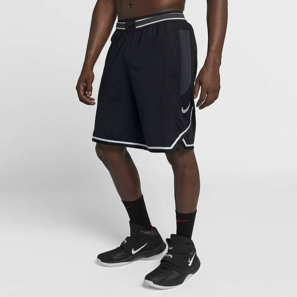 Nike Men's Vapor Knit Basketball Shorts NEW 925795 010 Black