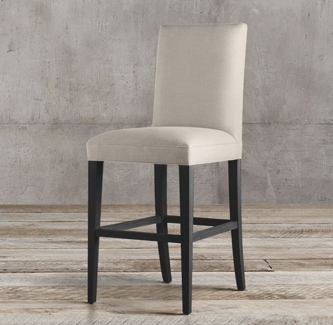 Hudson Parsons Fabric Stool Parsons Dining Chairs