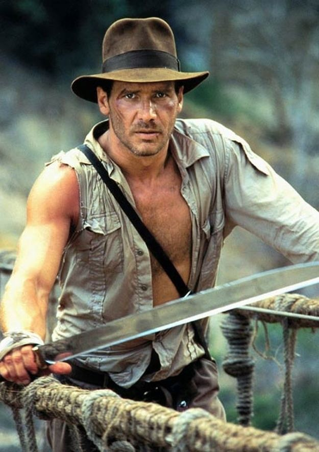 "Did you know the title for this movie was originally ""Indiana Jones and the  Temple of Be Still My Beating Heart""   d3f03072c4d8"