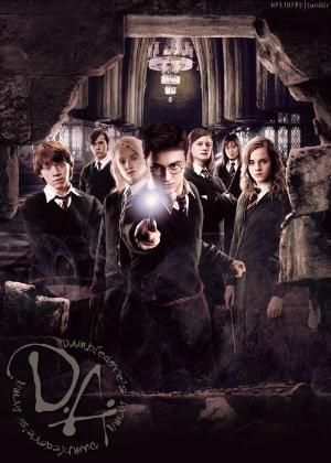 Dumbledore S Army 1996 The Original Order Of The Phoenix 1979 Harry Potter Background Harry Potter Images Harry Potter Movies