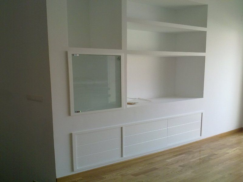 Muebles de escayola salon buscar con google pladur - Mueble de escayola ...