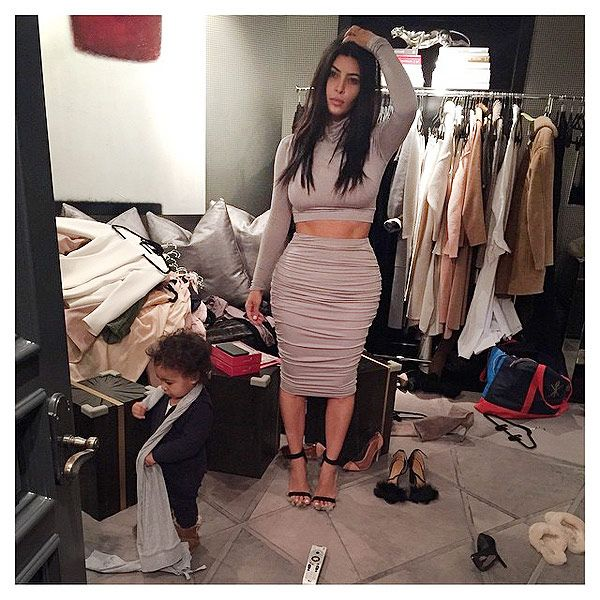8d8aa212 Turns Out Kim Kardashian's Closet Is a Lot Like Ours (PHOTO ...