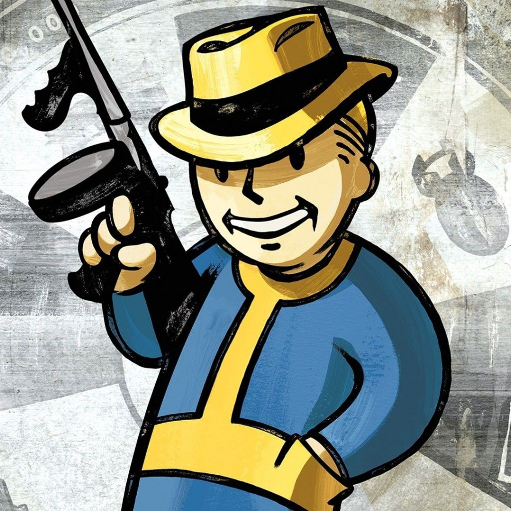 Fallout New Vegas Vault Boy Wallpaper Fallout Art Vault Boy