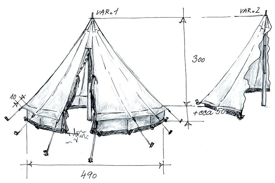 Small bell tent patterns google search website for Wall tent pattern