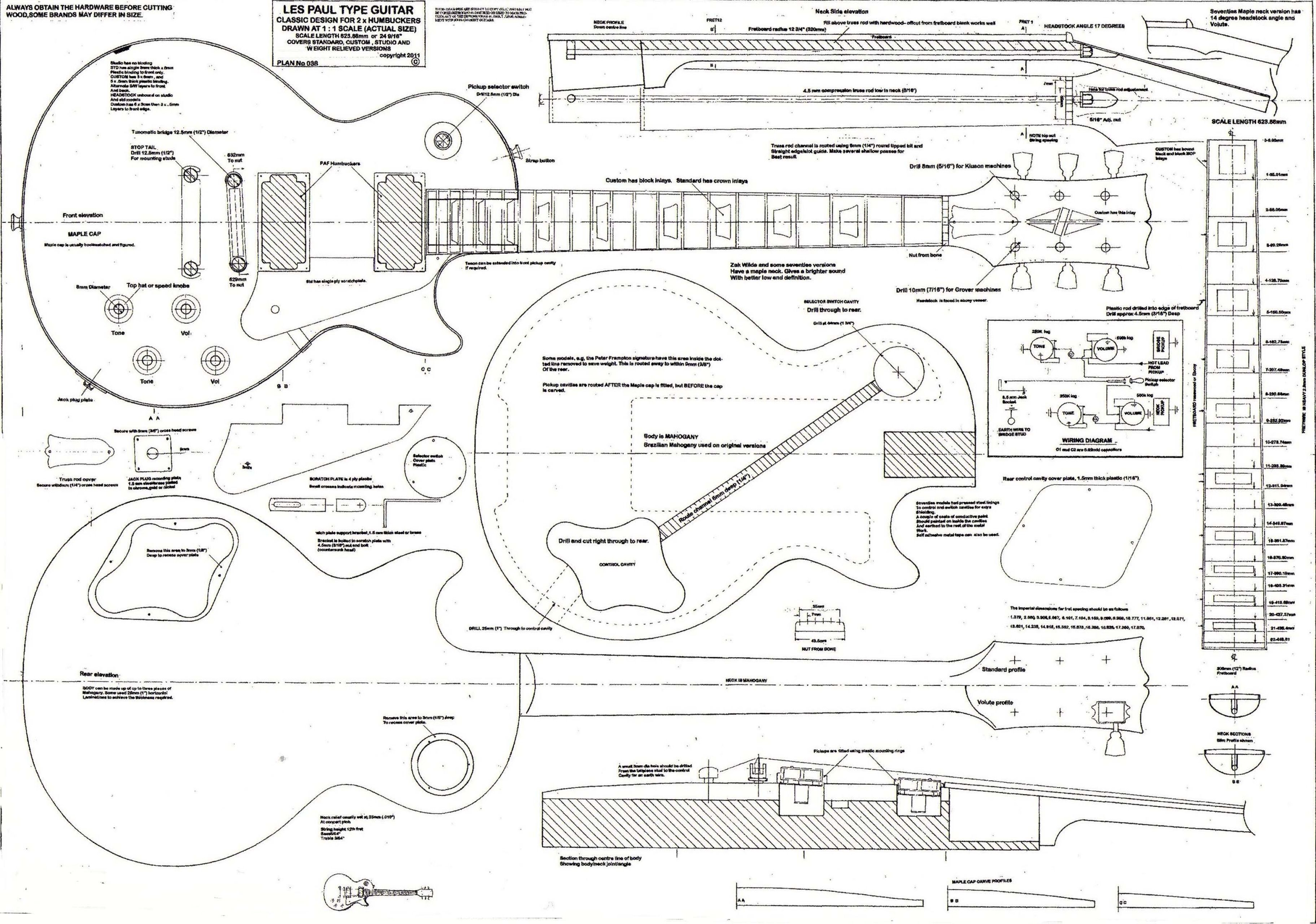 A3 Sized Print Of This Iconic Instrument Construction