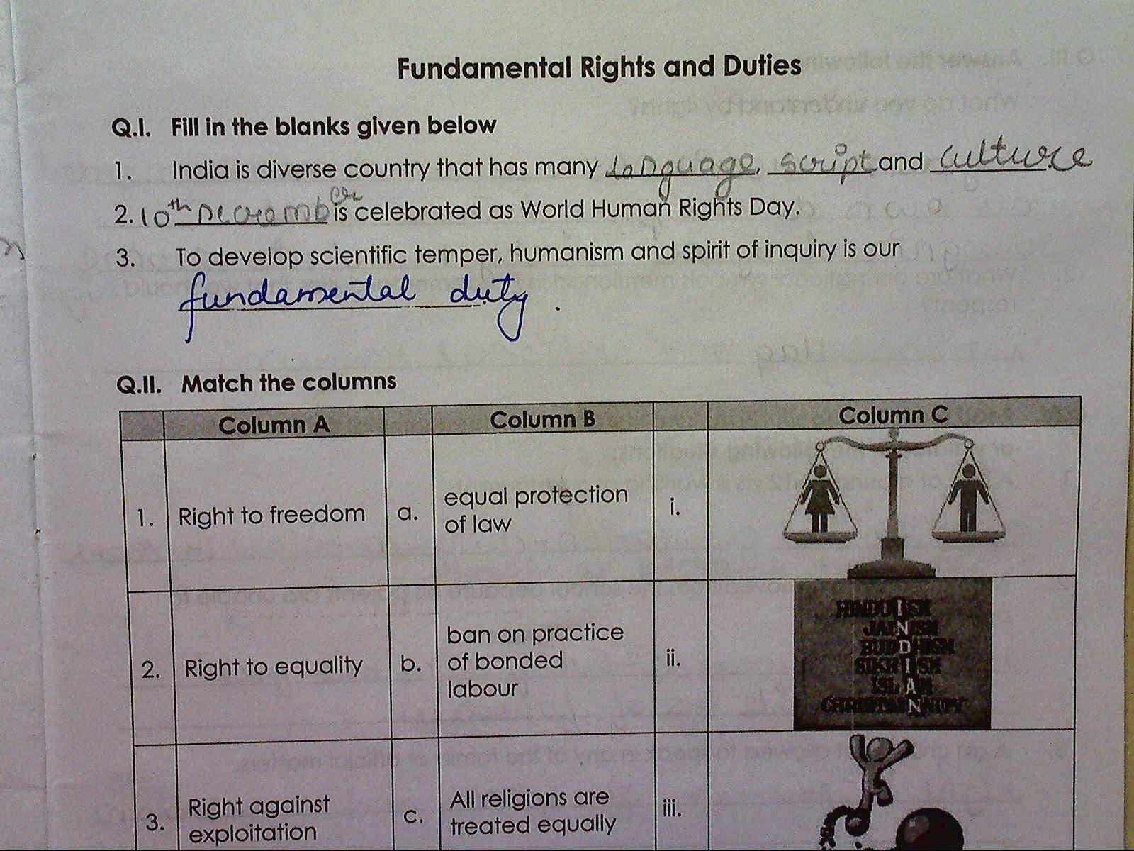 medium resolution of Rights and Responsibilities Worksheet Lovely Rights and Responsibilities  Quiz by Finnerty S F…   Rights and responsibilities