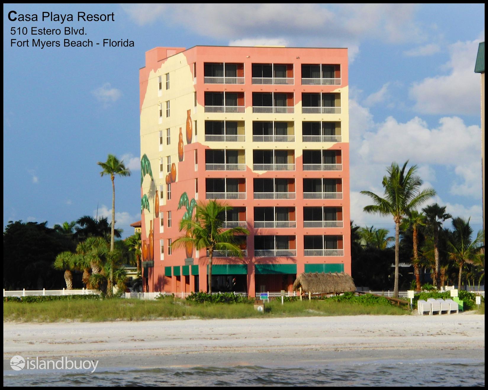 Casa Playa Resort Fort Myers Beach Florida A Condo Here At Casaplayaresort Ask For 702 And