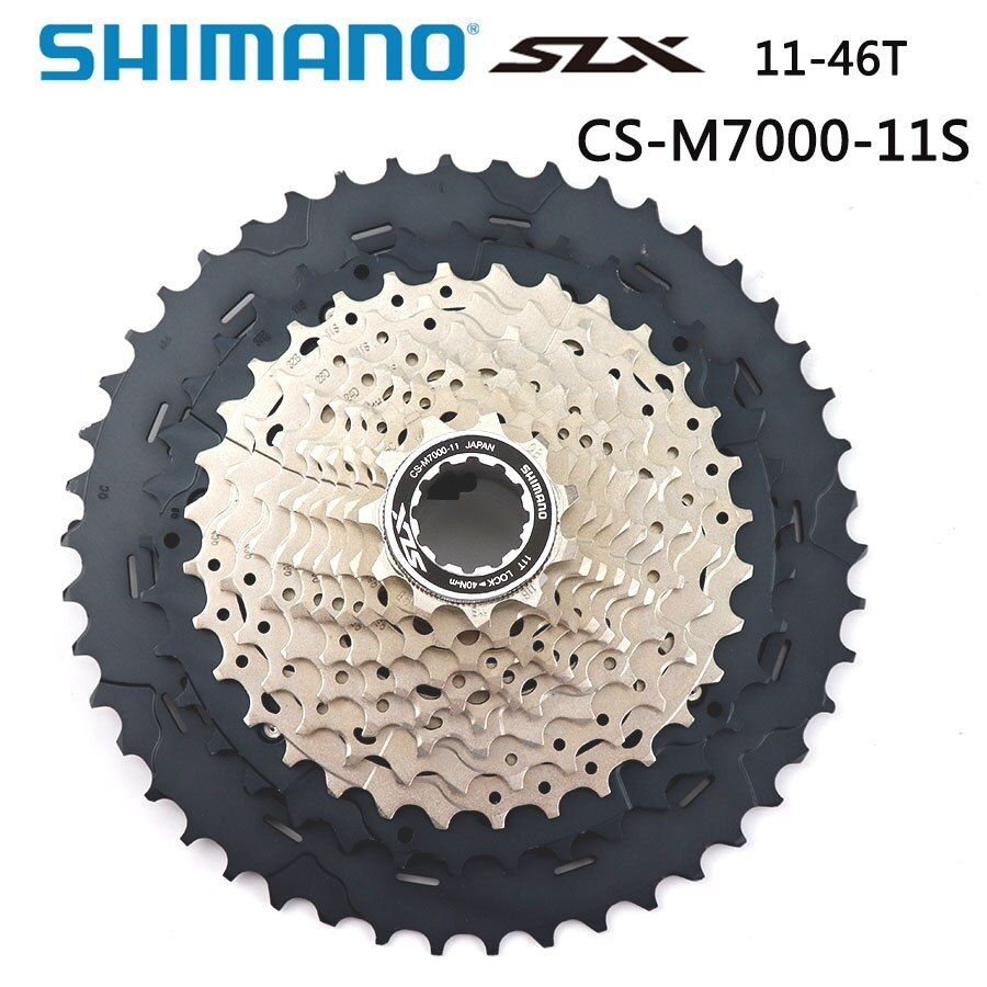 New Shimano SLX CS-M7000 MTB Bike Cassette 11-42T 11 Speed