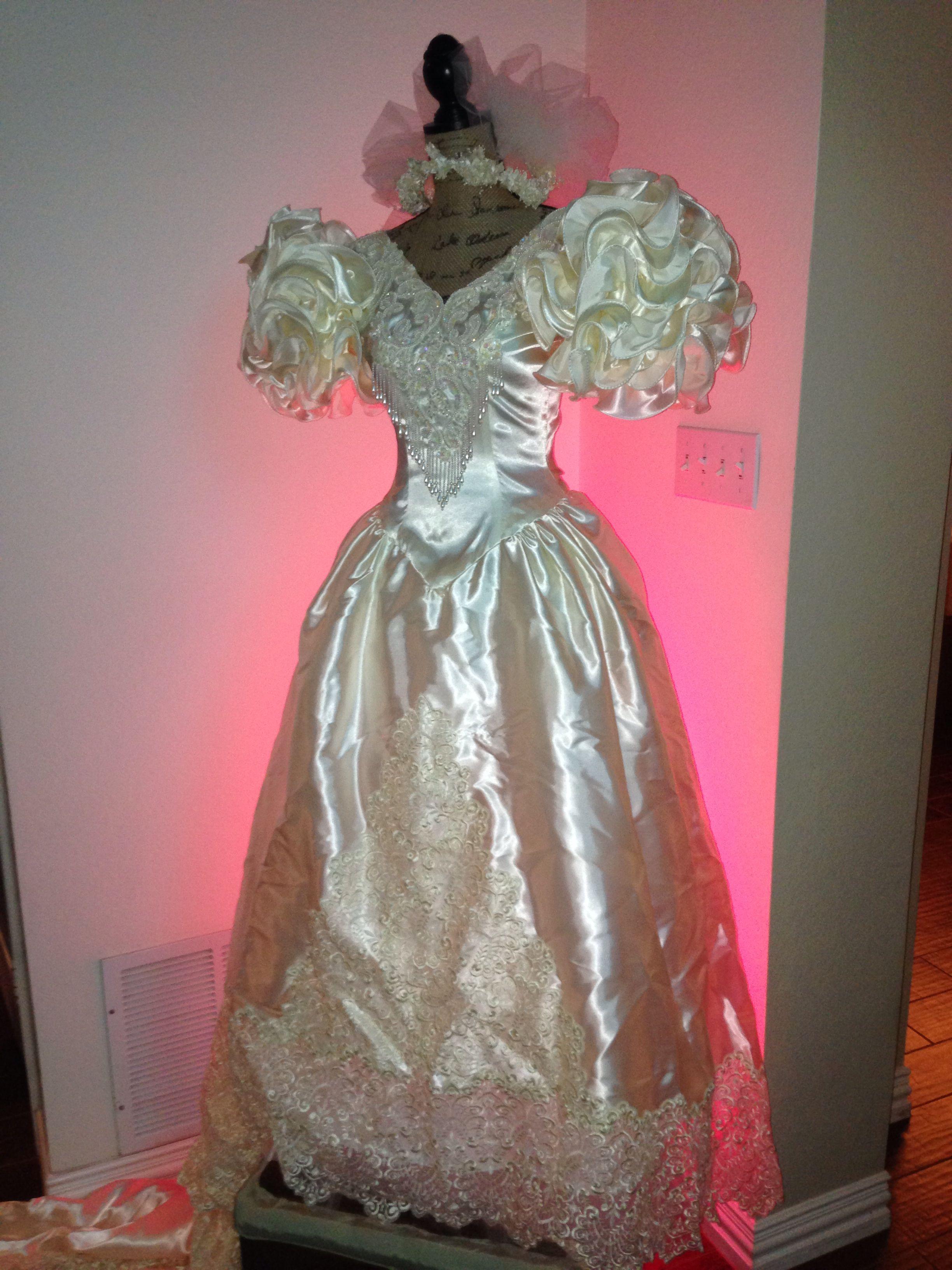 Wedding dress display th anniversary ideas pinterest wedding