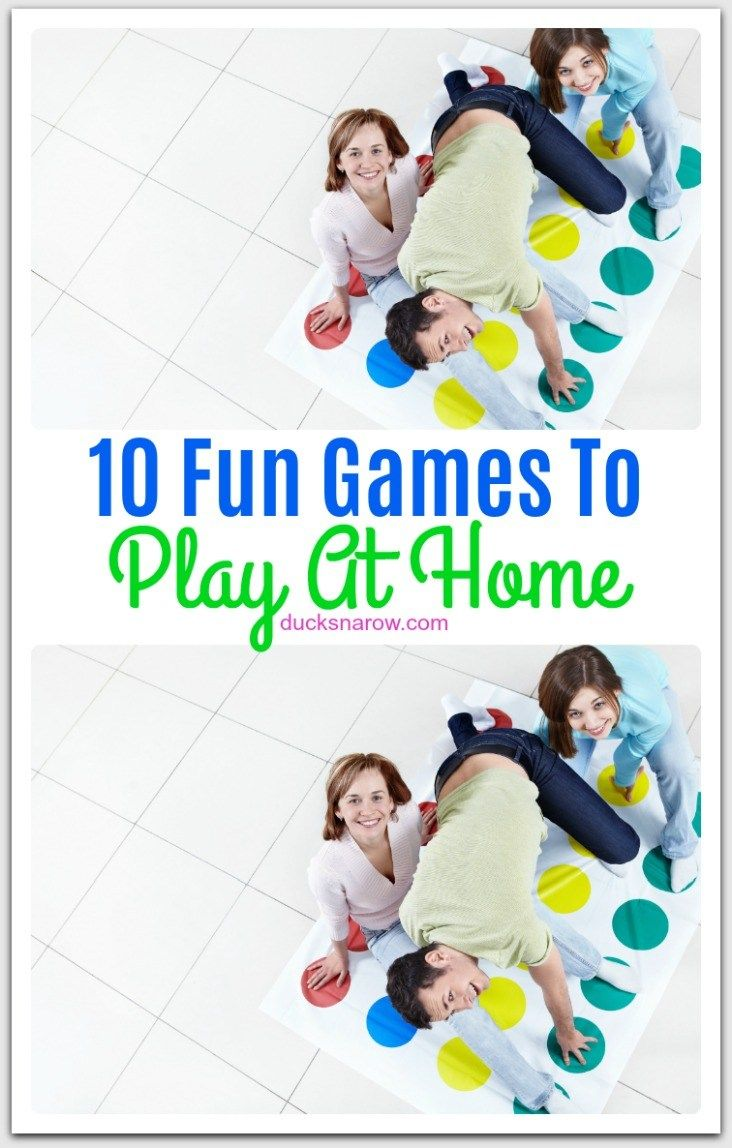 how to play fun games for kids at home
