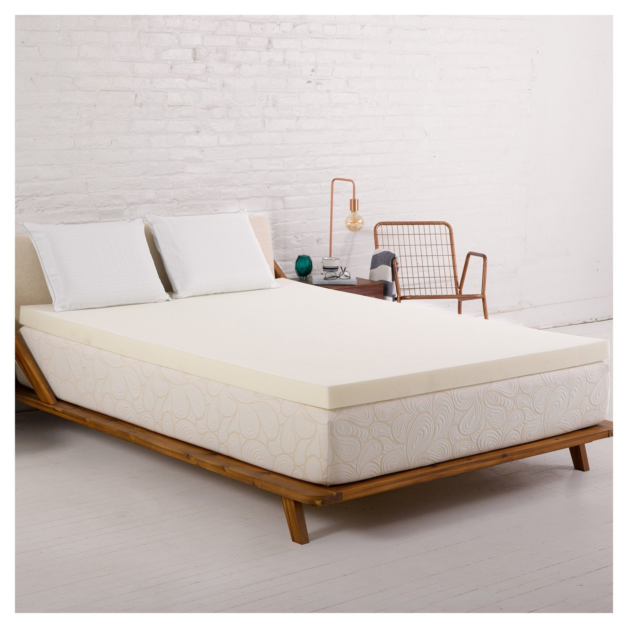 Unique Eggshell Mattress topper Target