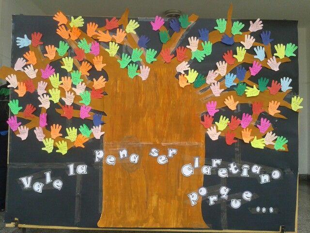 Árbol claretiano - celebración fiestas patronales del Colegio Claretiano de Lima