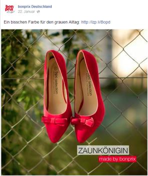 Content Marketing Wie bonprix auf Facebook Kundinnen findet