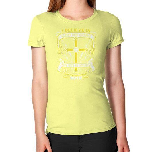 God and guns Women's T-Shirt