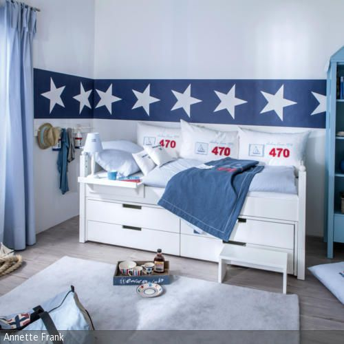 maritime k che im landhausstil. Black Bedroom Furniture Sets. Home Design Ideas