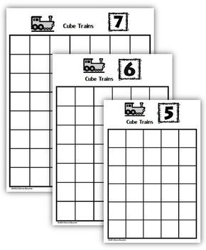 Composing and Decomposing Numbers: Cube Trains (With