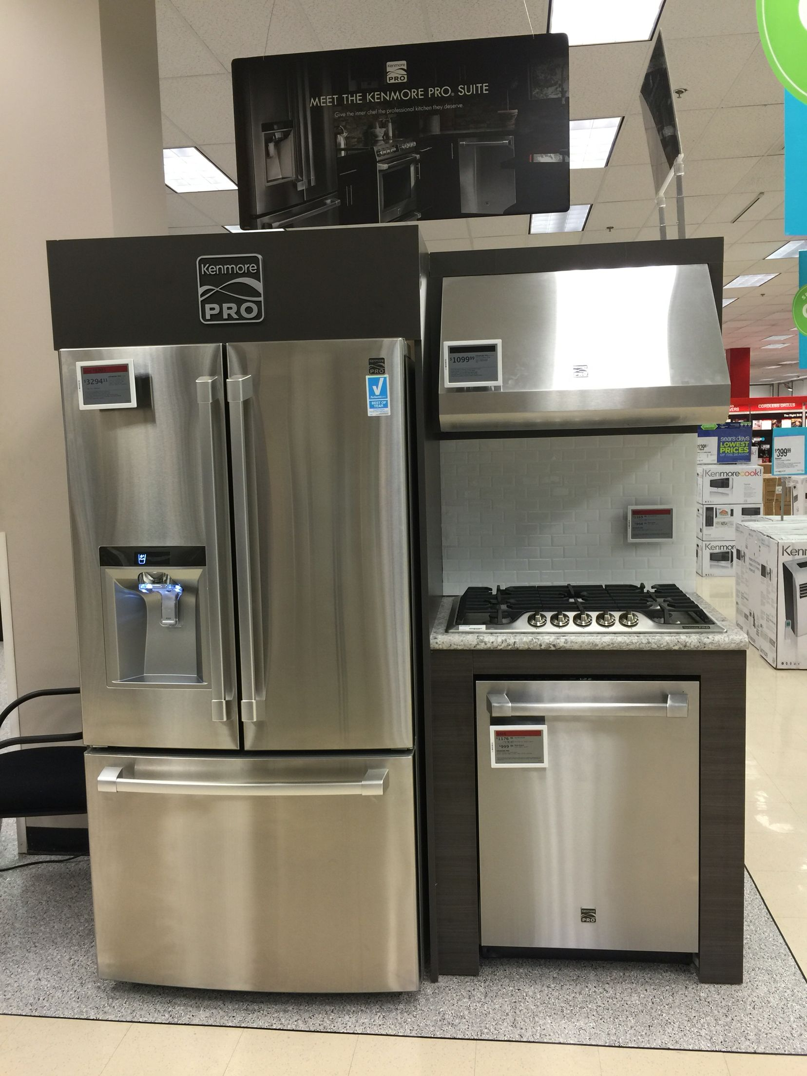 Kenmore Pro Only Sears Sears Kitchen Remodel Kitchen Appliance Packages Kitchen Remodel Pictures