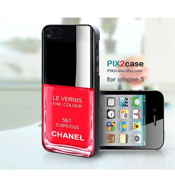 iPhone 5 Case - Nail Polish case - Girly Make Up iPhone 5 Case, Case ...