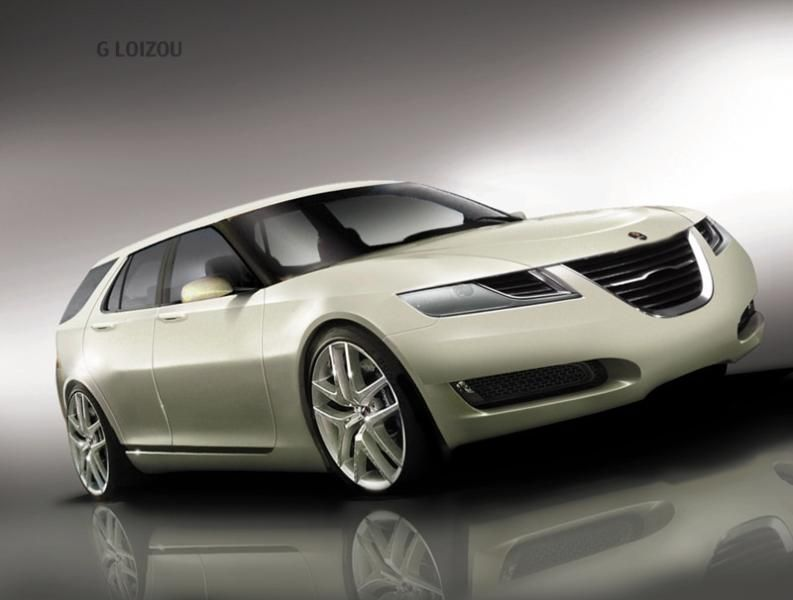 Saab combi concept: sign of 2015 models to come?