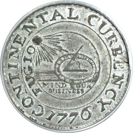 1776 Continental Dollar 1776 Continental $1 American history