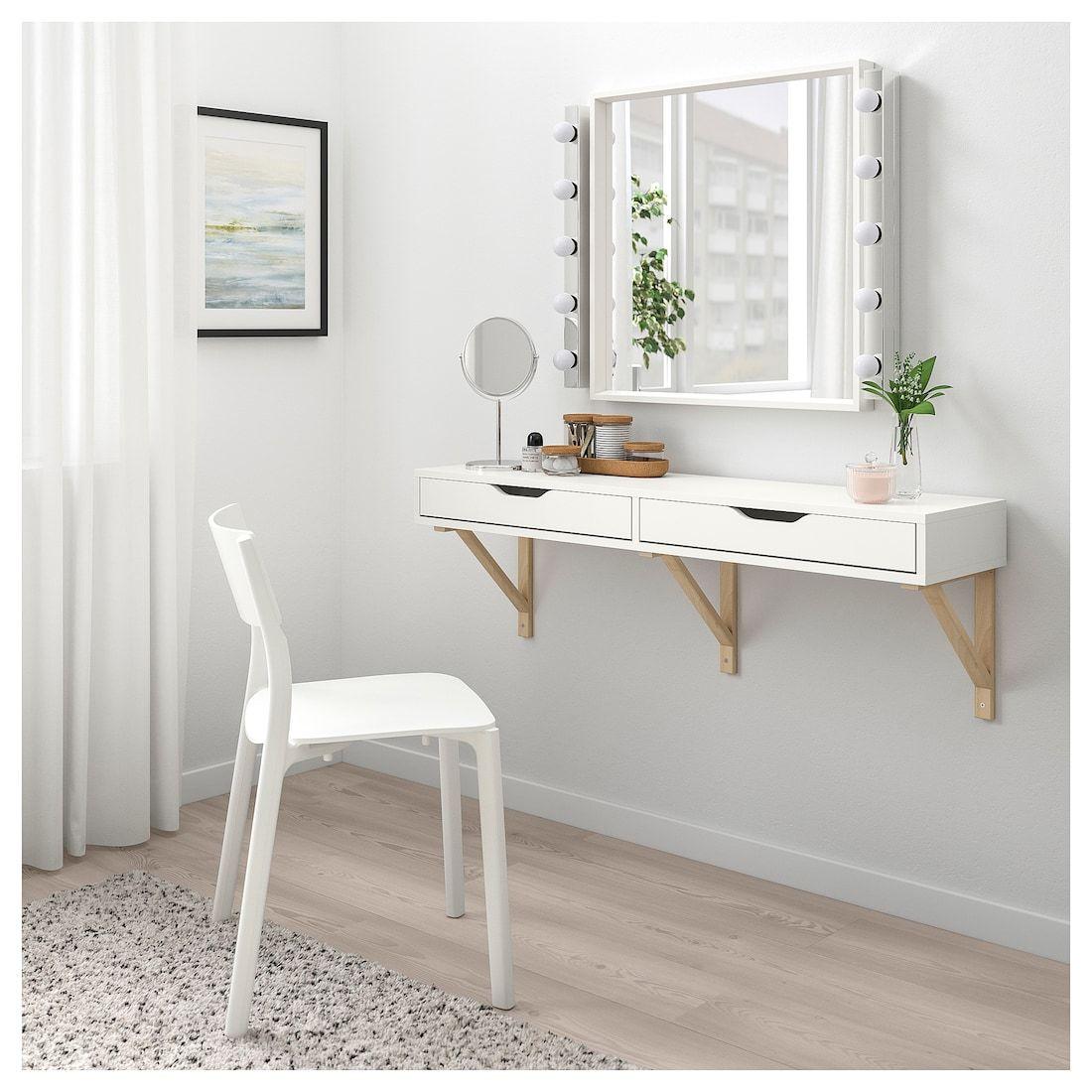 EKBY ALEX Regal mit Schubladen weiß IKEA Österreich