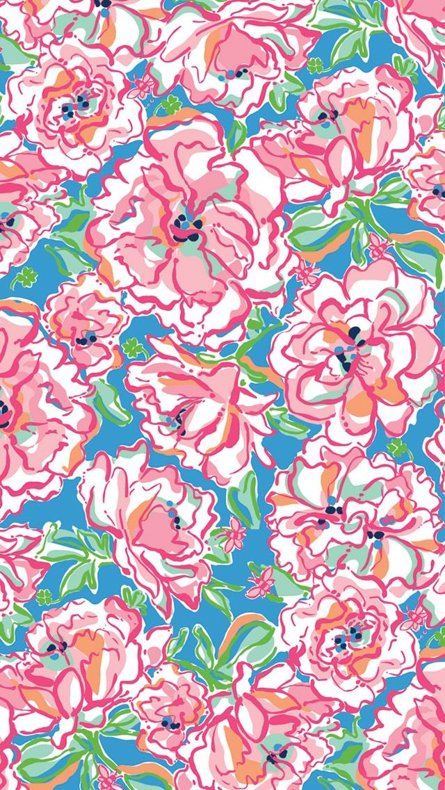 Lilly Pulitzer Find More Funky Patterns For Your IPhone Android Prettywallpaper