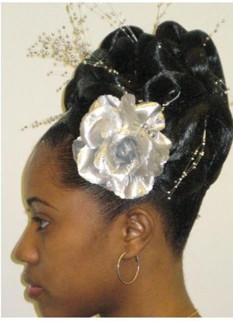 Black Women Hairstyle For Wedding Hairstyles Design