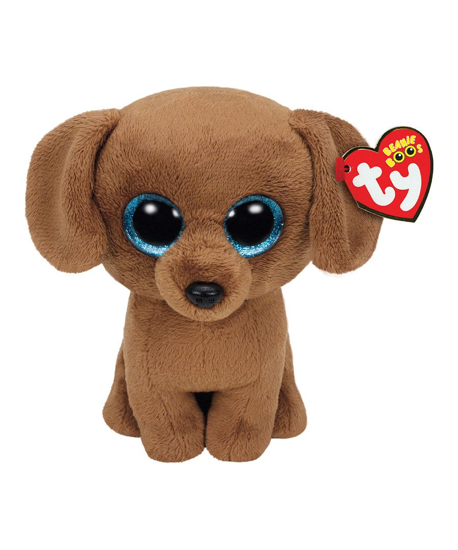 Look at this Dougie the Dachshund Dog Beanie Boo on #zulily today!