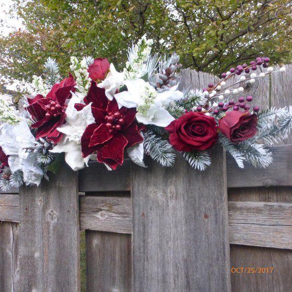 Winter Wedding Arch Decorations Wedding Arbor decorations ...