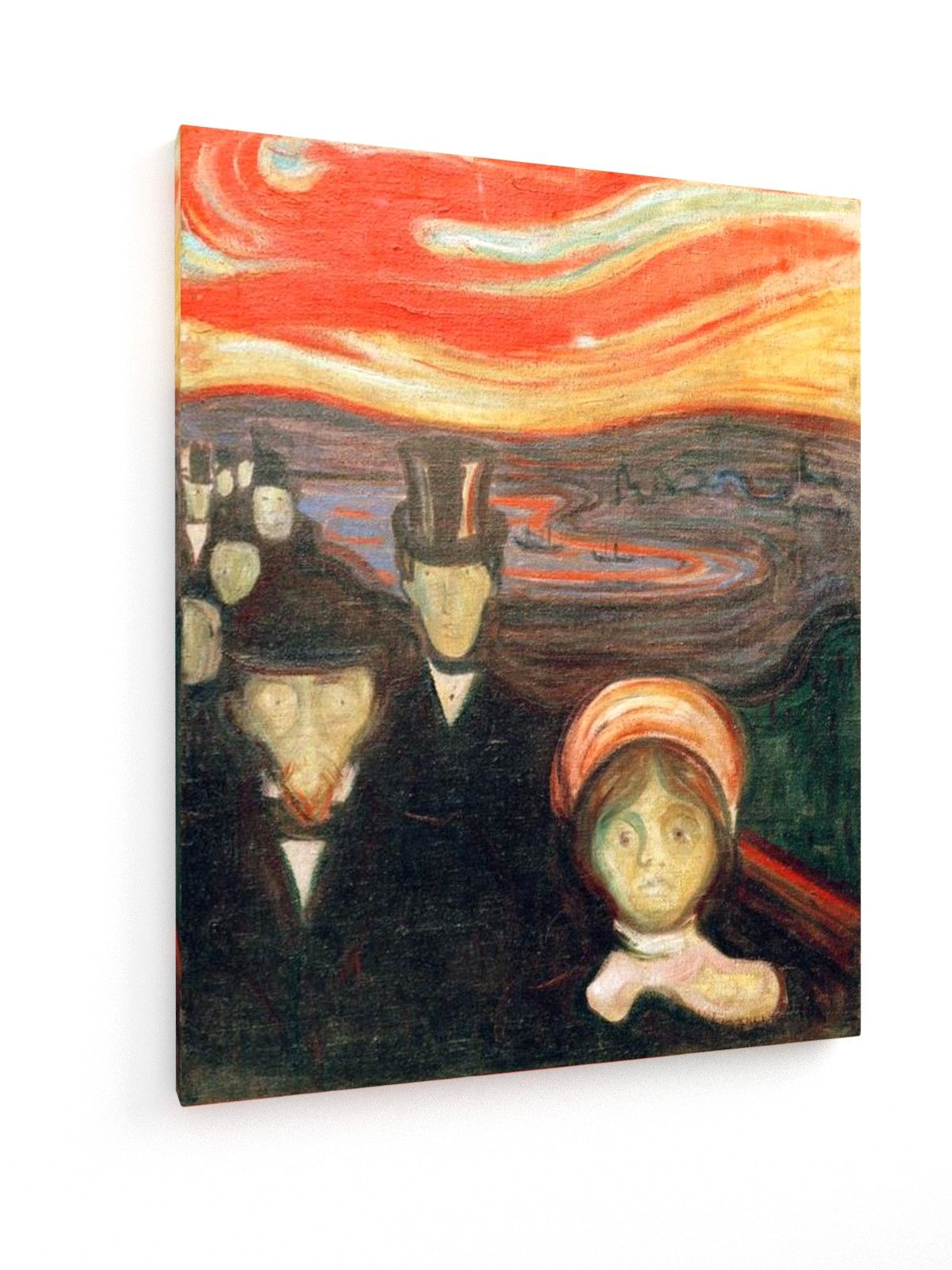 Edvard Munch - Fear - 1894 #Edvard #Munch #weewado #edvard #munch #Art #Nouveau #psychology
